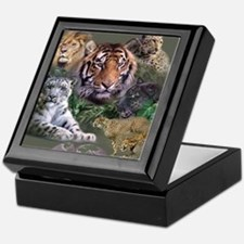 ip001528catsbig cats3333 Keepsake Box