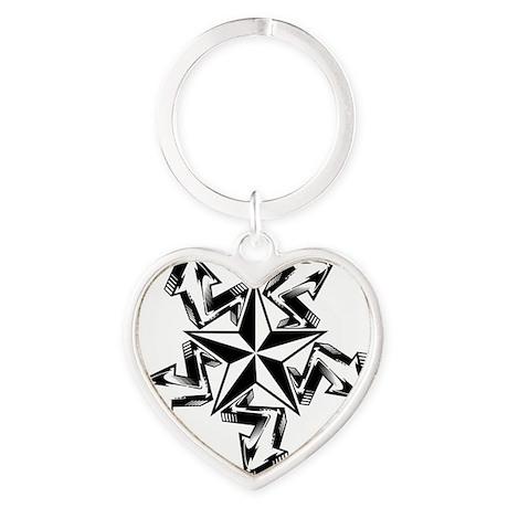 5StarArrow Heart Keychain
