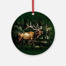 ip003513_1elk3333 Round Ornament