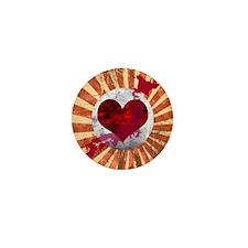 j_heart_necklace Mini Button