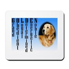 Meaning of a Golden Retriever Mousepad