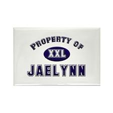 Property of jaelynn Rectangle Magnet