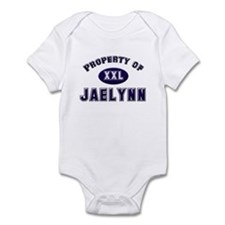Property of jaelynn Infant Bodysuit