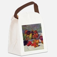 Still Life With Fruit Canvas Lunch Bag