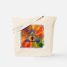 Sacred Pyramid Tote Bag