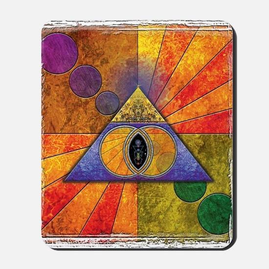 Sacred Pyramid Mousepad