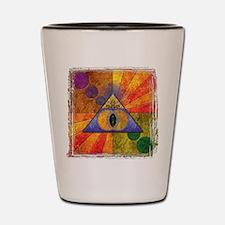 Sacred Pyramid Shot Glass