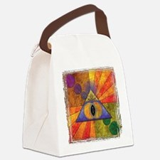 Sacred Pyramid Canvas Lunch Bag