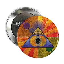 "Sacred Pyramid 2.25"" Button"