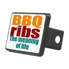 BBQ ribs is life Hitch Cover