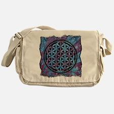 Flower Of Life Messenger Bag