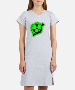 Radioactive_japan Women's Nightshirt