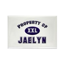 Property of jaelyn Rectangle Magnet