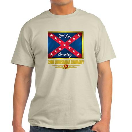 2nd Louisiana Cavalry (flag 10) Light T-Shirt