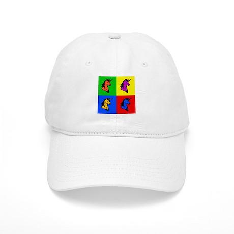 Pop Art Unicorn Cap