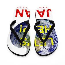 Lets Help Japan Flip Flops