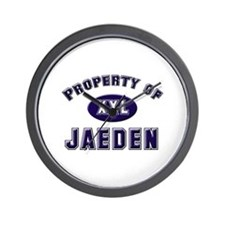 Property of jaeden Wall Clock