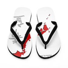 Japan Earthquake Relief Flip Flops