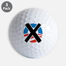 X Obama Golf Ball