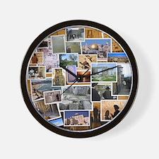 Sitios Turisticos Wall Clock