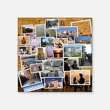 """Sitios Turisticos Square Sticker 3"""" x 3"""""""