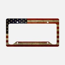 license-plate_antique-flag License Plate Holder