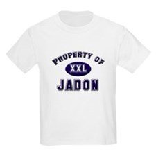 Property of jadon Kids T-Shirt