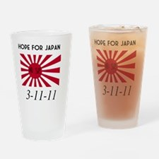 Hope For Japan 3-11-11 Drinking Glass