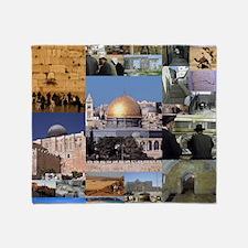 Eretz Israel Throw Blanket