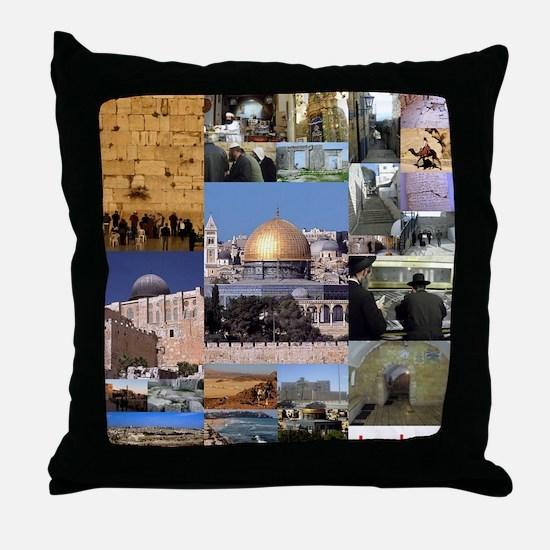 Eretz Israel Throw Pillow