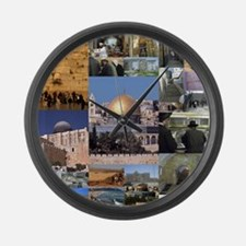 Eretz Israel Large Wall Clock