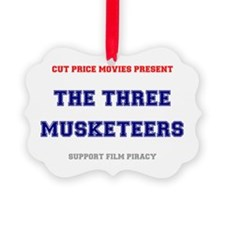 CUT PRICE MOVIES - THE THREE MUSK Ornament