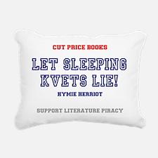 CUT PRICE BOOKS - LET SL Rectangular Canvas Pillow