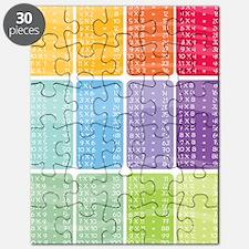 times table multiplication rainbow vivid Puzzle