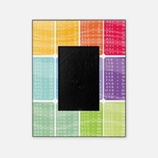 times table multiplication rainbow v Picture Frame