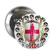 "England_Shirt_TribalShield 2.25"" Button"