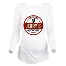Logos 41 Copy Long Sleeve Maternity T-Shirt