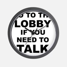 go to lobby nb lt Wall Clock