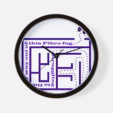 10fibro_fog1 Wall Clock