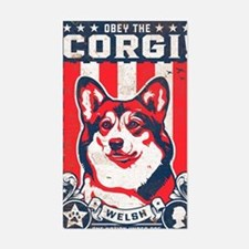 corgi_usa_white Decal