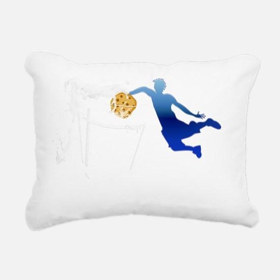 dunk_darkT Rectangular Canvas Pillow