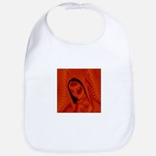 Virgen de Guadalupe - Red Bib