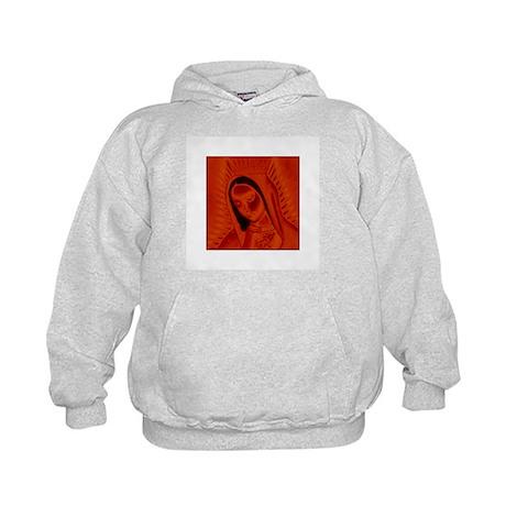 Virgen de Guadalupe - Red Kids Hoodie