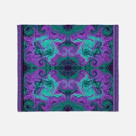 20020816-01Spiro-v003-sig-v01-7m Throw Blanket