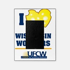 I heart wisconsin workers Picture Frame