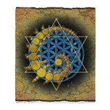 Sacred geometry Fleece Blankets