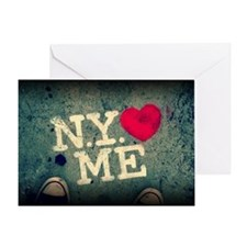 NewYorkLovesMe Greeting Card
