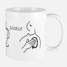 """More, please"" Sign Language Mug"