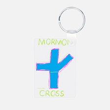 Mormon Cross Keychains