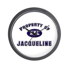 Property of jacqueline Wall Clock